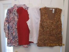 WOMEN'S PLUS SIZE CLOTHING Lot Of 4 Tops/Blouses NEW Size XL New with Tags