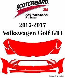3M Scotchgard Paint Protection Pro Series 2015 2016 2017 Volkswagen Golf GTI