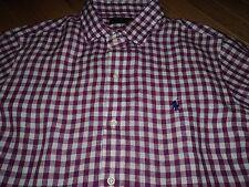 +++nwt $125 Polo Ralph Lauren Long Sleeve 100% Linen Shirt sz L+++