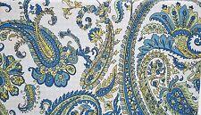RALPH LAUREN Mediterranean Paisley Blue 3PC Full/ Queen Duvet Set NEW