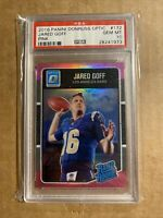 2016 JARED GOFF PANINI DONRUSS OPTIC PINK REFRACTOR PSA 10 #172 RAMS ROOKIE RC