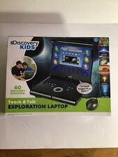 Discovery Kids Teach and Talk Exploration Laptop with Mouse & 60 Activities- New