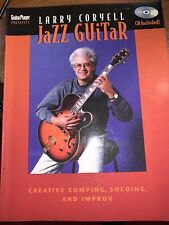 Larry Coryell Jazz Guitar Creative Comping, Soloing, & Improv With Cd