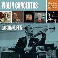Jascha Heifetz - Jascha Heifetz Violin Concertos - Original Album Classics (OVP)
