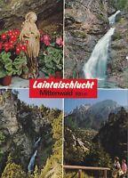 Laintalschlucht, Mittenwald  ,Ansichtskarte