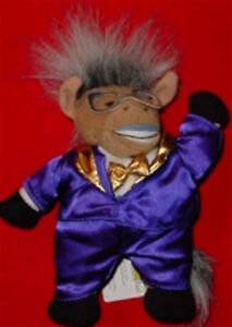 """MEANIES """"DONKEYNG"""" BOXING Spoof of Bean Bag Toy DON KING Plush NEW with TAG!"""