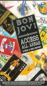 BON JOVI Access All Areas VHS Tape SIGNED AUTOGRAPHED and SEALED Last One RARE
