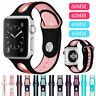 Soft Silicone Sports Band Strap for Apple Watch Series 5 4 3 iWatch 38 40 42 44
