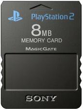 Playstation 2 Memory Card 8 MB - Black
