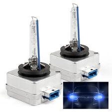 2x Bombilla de xenon para faro HID 8000k Azul D8S compatible con Ford Focus