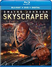 "SKYSCRAPER - [BLU-RAY/DVD COMBO PACK] - NEW UNOPENED - DWAYNE ""THE ROCK"" JOHNSON"