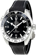215.33.44.22.01.001 | NEW OMEGA SEAMASTER PLANET OCEAN BLACK & WHITE MEN'S WATCH