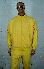 Very RARE Vintage Adidas Originals HIP HOP Tracksuit Yellow Mens Size M