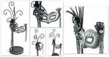 Schmuckpuppe - Schmuckständer - mit toller venezianischer Maske - ca. 33,5 cm