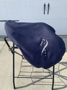 """17.5"""" Antares Jumping/Close Contact Saddle (2009 Model) W/Cover"""