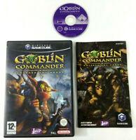 Jeu GameCube VF  Goblin Commander  avec notice  Envoi rapide et suivi