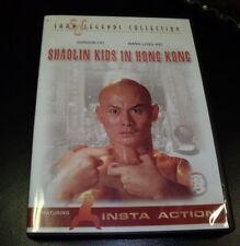 SHAOLIN KIDS IN HONG KONG DVD - GORDON LIU - WANG LUNG WEI - PHILIP KO FEI