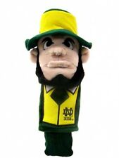 NEW Notre Dame Fighting Irish Team Golf Leprechaun Mascot Driver Headcover