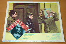 JEAN-PIERRE LEAUD MASCULIN FEMININ GODARD 1966 PHOTO VINTAGE LOBBY CARD #2