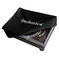 Technics 1200 / 1210 Turntable Deck Cover - Schwarz / Silber Logo (DECKB1)