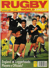 Mundial De Rugby Revista De Agosto De 1991-francés final, Simon Poidevin, Lisboa 7s