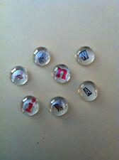 Glass Gem Alphabet Magnets