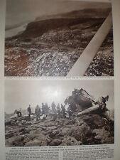 Photo article UK school children die aircrash near Stavanger Norway 1961