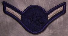 Embroidered Military Patch USAF Air Force rank insignia E2 Airman NEW small