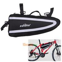 Large Bicycle Bag Bike Storage Front Frame Top Tube Triangle Water Bag Cycling