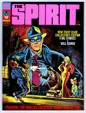 The Spirit #1 1974 (Warren) 9.2 White Pages Bronze Age