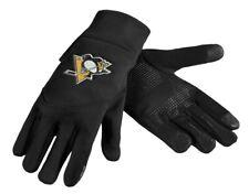 Pittsburgh Penguins Neoprene Gloves Sports Logo Winter - Texting Tips High End