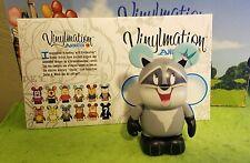 "Disney Vinylmation 3"" Park Set 4 Animation Meeko Raccoon Pocahontas with Box"