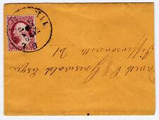 "#26A-3 Cents 1857, 27L10e, ""ELGIN/SEP/23/1857/ILL"" to Jeffersonville, Vt. cover"
