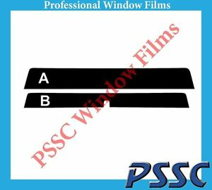 PSSC Front Car Window Tint 05-11 TOYOTA HILUX extra cab
