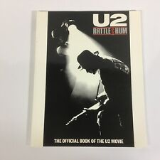 U2 Rattle and Hum - The Official Book Of The Movie Soft Cover - Nr