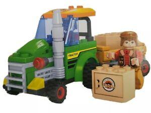 OX BLOCKS Farm Tractor Building Blocks 103 piece set, Fun Play