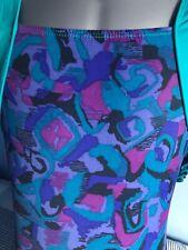 """GK Gymnastics Leotard Jade & multi coloured - AXS - 30"""""""