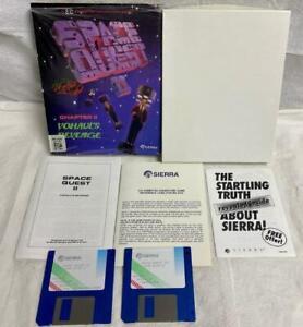 "Space Quest II: Vohaul's Revenge Sierra IBM PC & Tandy MS-DOS 3.5"" DD EGA"