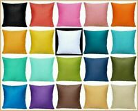 "16x16"" 100% Cotton Throw Pillow Case Soft Multi-Color Decorative Cushion Cover"