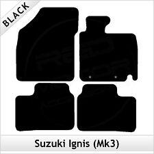 Suzuki Ignis Mk3 2016 2017 onwards Tailored Fitted Carpet Car Floor Mats BLACK