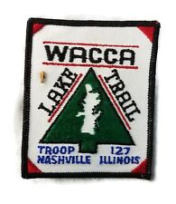 Boy Scout Wacca Lake Trail 1st Repeat Patch Pin Medal MINT