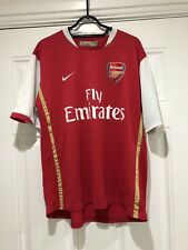 180502d7c 2006-08 Arsenal Home Shirt - Large