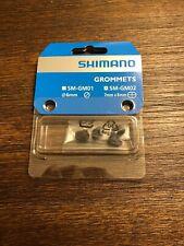 Shimano GM02 Di2 E-Tube Frame Grommets (7mm x 8mm oval) 4 pcs
