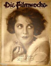 Filmwoche Illustrierte Filmzeitschrift Heft 44/1928 Ruth Weyher Evelyn Holt