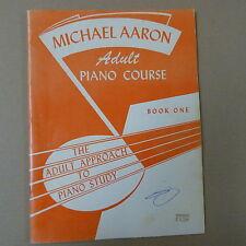 Piano Michael Aaron Piano Course Grado 1 One Adulto