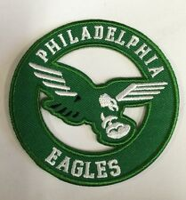 "Philadelphia Eagles vintage embroidered iron  on logo patch  3x3""  NFL"