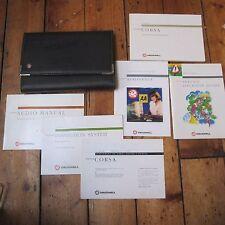 Vauxhall Corsa 1995 95 Owner's Manual Handbook etc Wallet Case Original Official