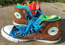 NIB CUTE COLORS Converse Girls CT Multi Tongue Ox Athletic Shoe SIZES