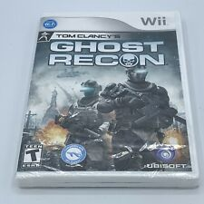 Tom Clancy's Ghost Recon Nintendo Wii - Brand New And Sealed