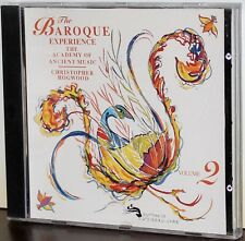 L'OISEAU LYRE CD: The Baroque Experience Volume 2 - HOGWOOD - 1991 CANADA